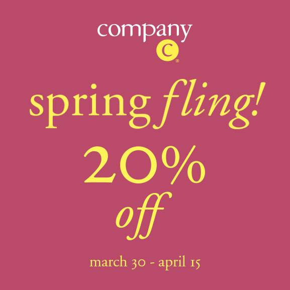Company C 20percent off